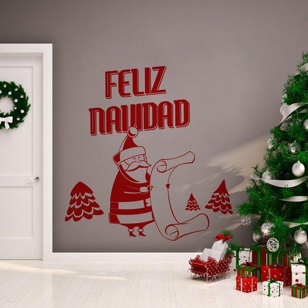 8 best vinilos decorativos de navidad images on pinterest - Papelpintadoonline com vinilos decorativos ...