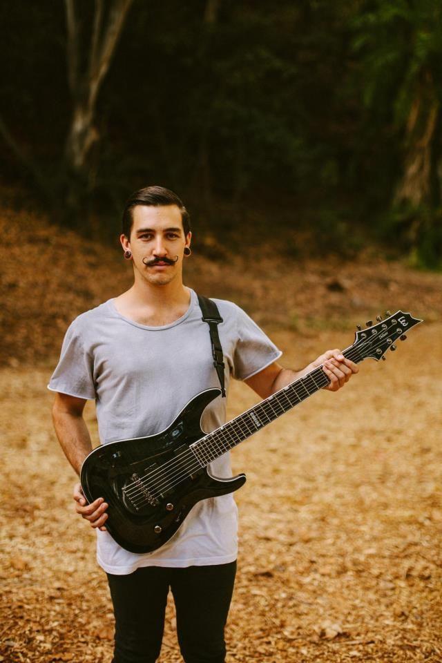 I love In Heart's Wake guitarist's moustache:)