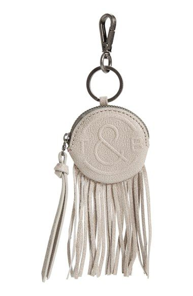 Treasure&Bond Fringe Leather Bag Charm available at #Nordstrom