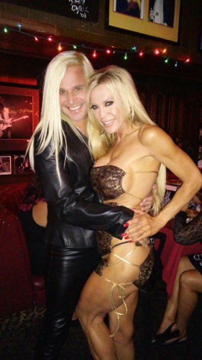 Daniel DiCriscio and Porn Icon  Amber Lynn celebrating Amber Lynn's Birthday at The Rainbow Room Bar & Grill on Sunset Blvd West Hollywood, CA.
