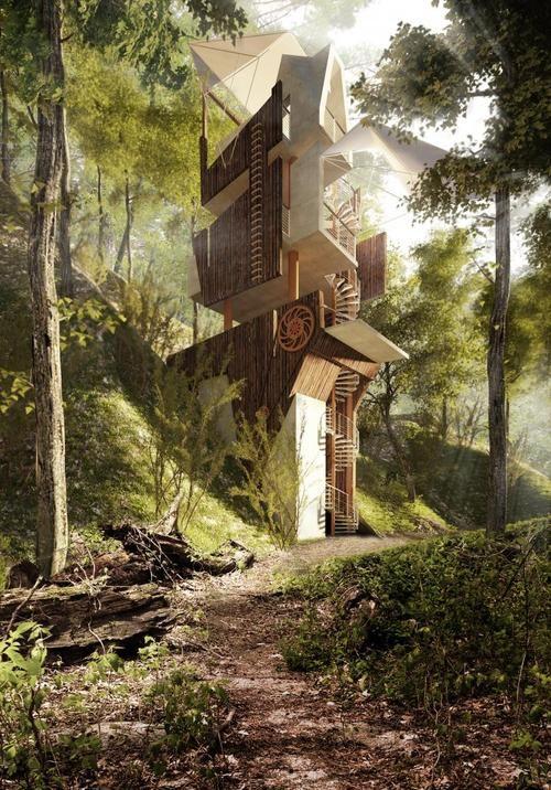 arkitekcher: Tree House | JaAction55