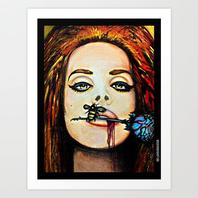 Sweet Like Cinnamon Art Print by DRD † David Russo Design - $17.68