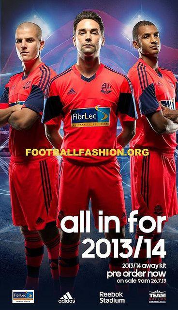 Bolton Wanderers 2013/14 adidas Away Kit