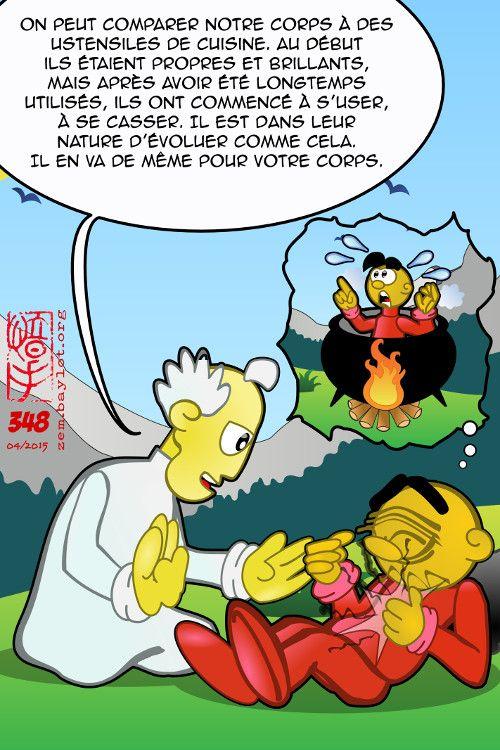 """BD - ZEM : """"Grasse cuisine fait maigre testament."""" (Proverbe) - Blog de Frédéric Baylot"""