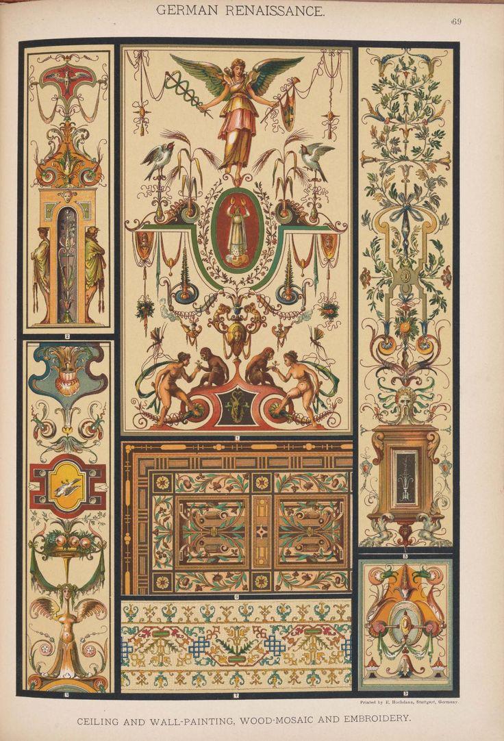 Emil Hochdanz (1816 -1885) — German Renaissance. Historic styles of ornament (1313x1932)