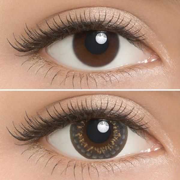 Lilmoon Monthly Milky Grey 1 pair (2 lenses) - EyeCandy's