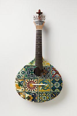 Tiled Fado Guitar