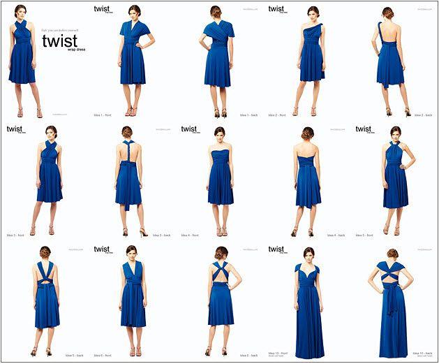 10 Best ideas about Wrap Bridesmaid Dresses on Pinterest ...