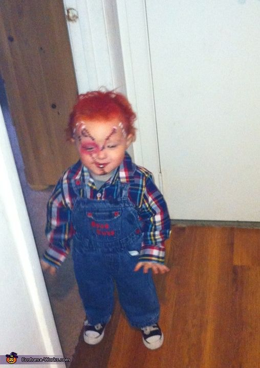 Chucky Doll Costume - Halloween Costume Contest via @costume_works