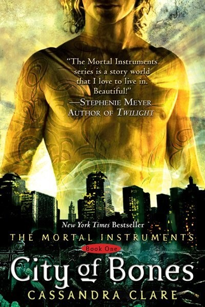 City of Bones.....I have read the whole series...5 books so far. They are making a movie of it. Comes out 2013