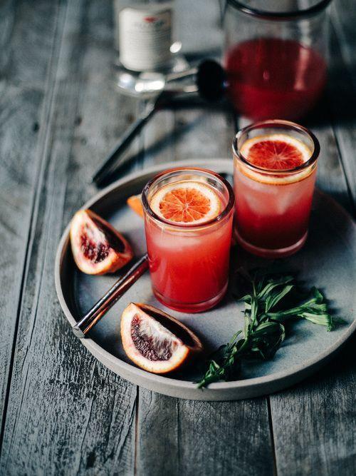 Blood Orange Sparkling Vodka