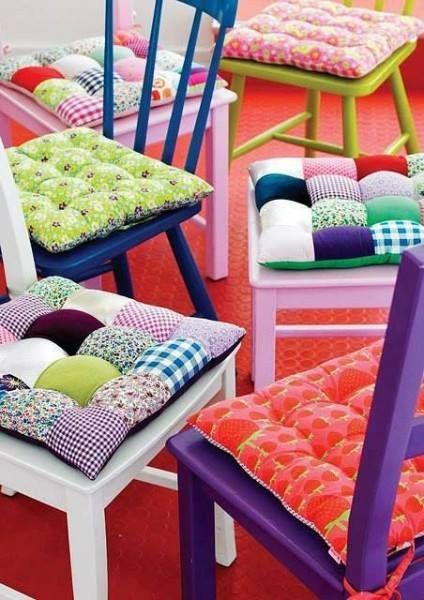 10 mejores ideas sobre cojines para sillas cocina en - Cojines redondos para sillas ...