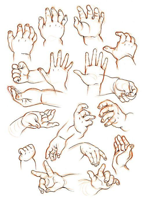 how to draw childrens hands - Google Search