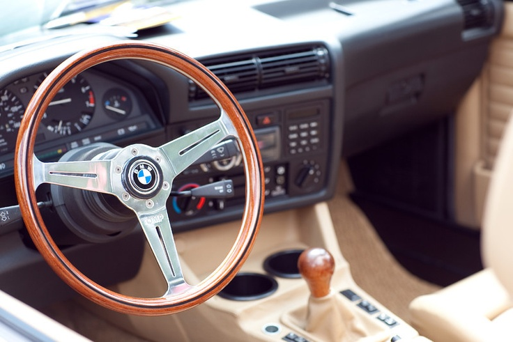 BMW E30 convertible custom interior