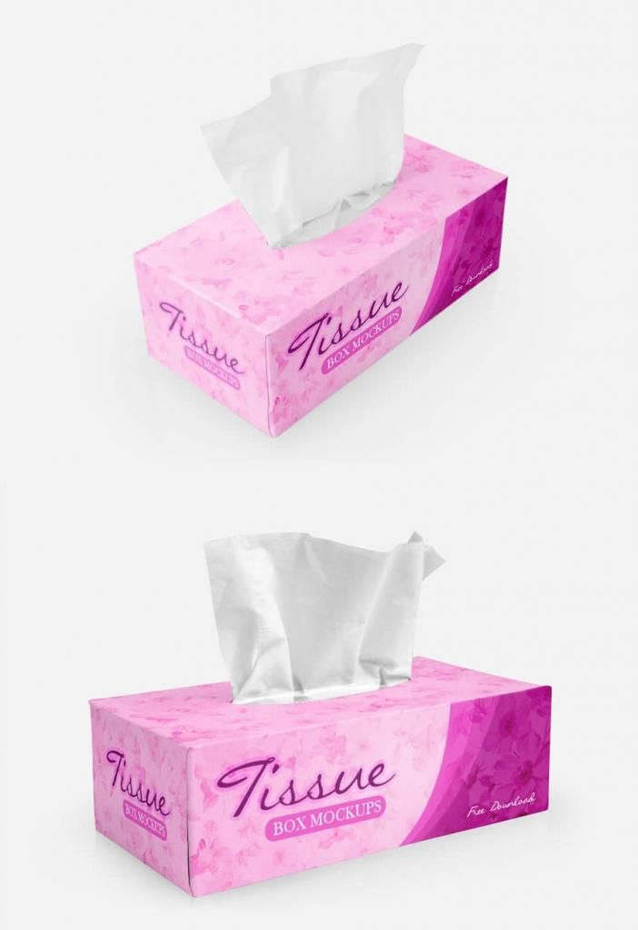 Download Tissue Box Packaging Free Mockup Box Mockup Tissue Boxes Photoshop Tutorial Typography