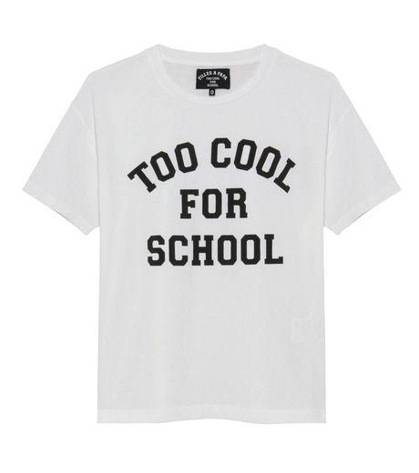 フィーユ・ア・パパ - Filles a Papa - Too Cool for School T-shirt-4   RESTIR リステア