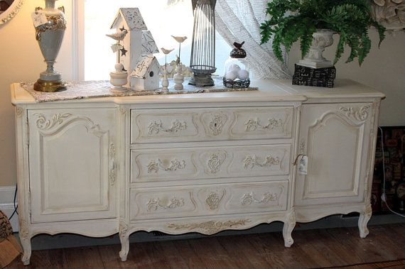 Vintage Henredon French Provincial Buffet By Vintageonetsy For The Home Pinterest