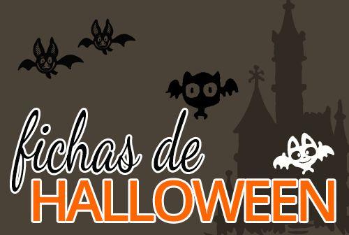 Actividades para halloween  #preescolar #fichas #cartillas #halloween