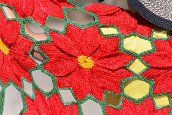 Holiday Crochet eBook Poinsettia Proliferation