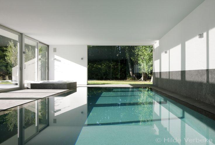 binnenzwembad, privé zwembad, zwembad, overloopzwembad, mozaiek zwembaden, betonnen zwembaden ‹ De Mooiste Zwembaden