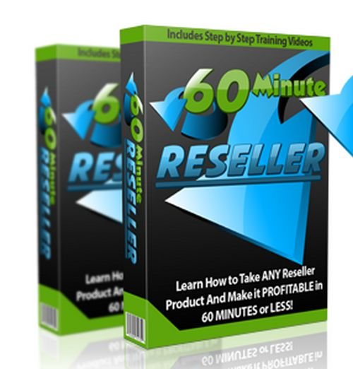 60 Minute Reseller – TOP Training to Create a Complete Sales Funnel From Scratch and Get Everything Ready to Start Making Sales in Less Than 60 Minutes