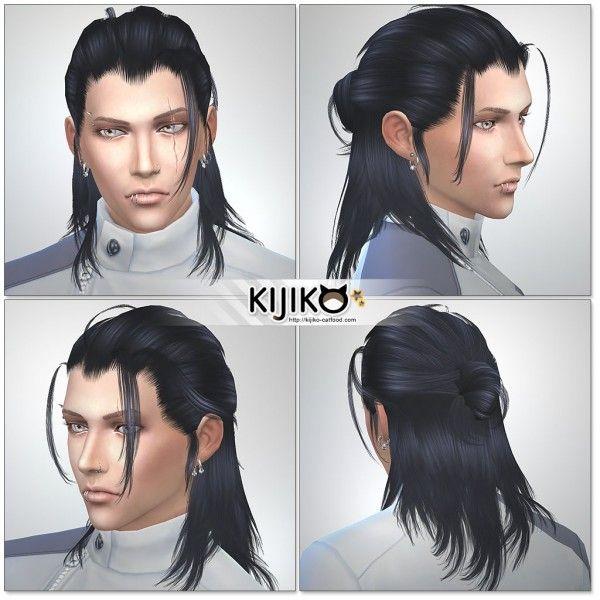 Kijiko: Hair 019 Toyger_Kitten retextured • Sims 4 Downloads