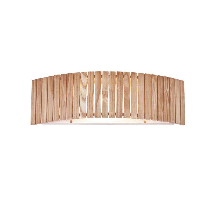 Aplique madera y metal para pared | Comprar lámparas rústicas de pared tipo aplique y precio económico | Ineslam #lamparas #lamparasmadera #iluminacion #decoracion #comprarlamparas #comprarlamparasparacasa #diseño