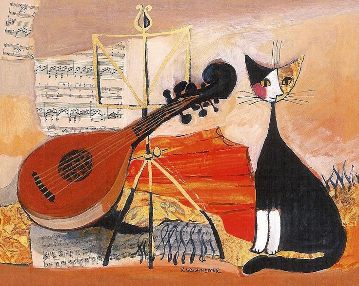 Epic  Wainting for the Concert par Rosina Wachtmeister
