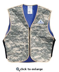 Hyperkewl Evaporative Cooling Marine Desert Digital Camo Vest