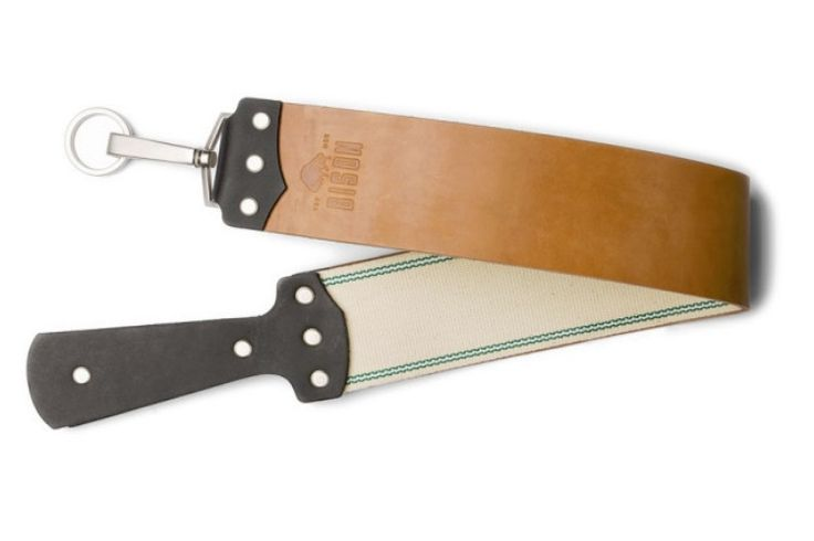 So you bought the cut throat razor and you like the close shave it gives you. But the blade is only effective when it is sharp. Bison Horsehide Razor Strop...