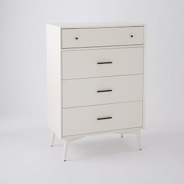 kool furniture. Mid-Century 4-Drawer Dresser - White #westelm | Kool Furniture Pinterest Dresser, Mid Century And Drawers