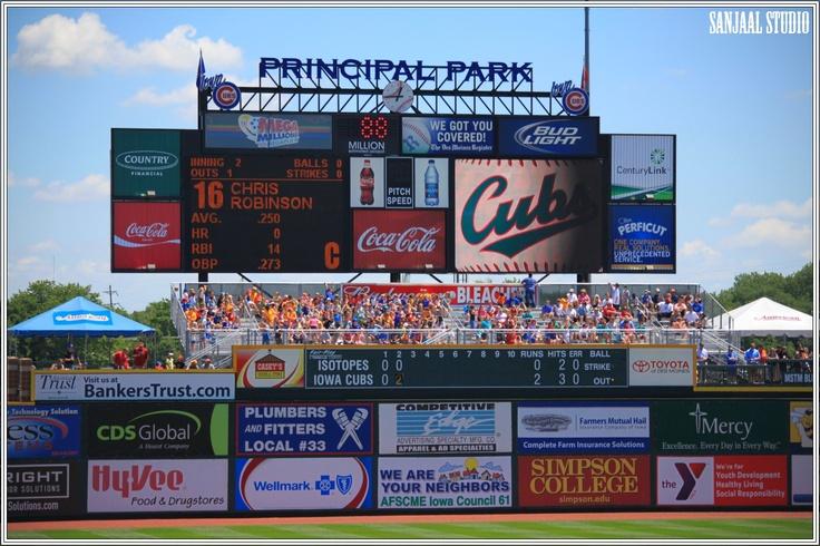 Image detail for -... II » Iowa Cubs Principal Park Baseball Stadium At Des Moines Iowa