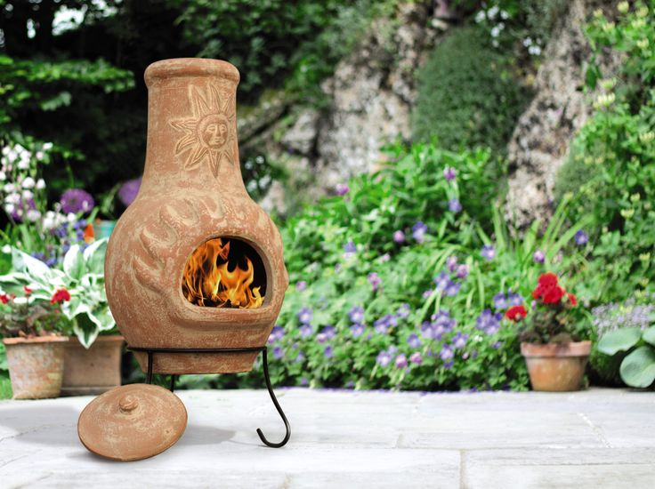 17 best ideas about clay fire pit on pinterest chiminea. Black Bedroom Furniture Sets. Home Design Ideas