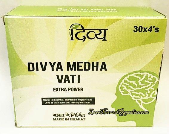Медха Вати Экстра Пауэр   Medha Vati Extra Power   120 таб.   Divya Pharmacy (Patanjali)
