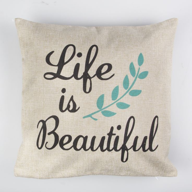 Made from burlap, they have a slight rustic look and would look great on a leather sofa, or vintage wooden chair.Comes with removable hollow fibre inner. Spot clean only.Price includes cushion cover and inner.