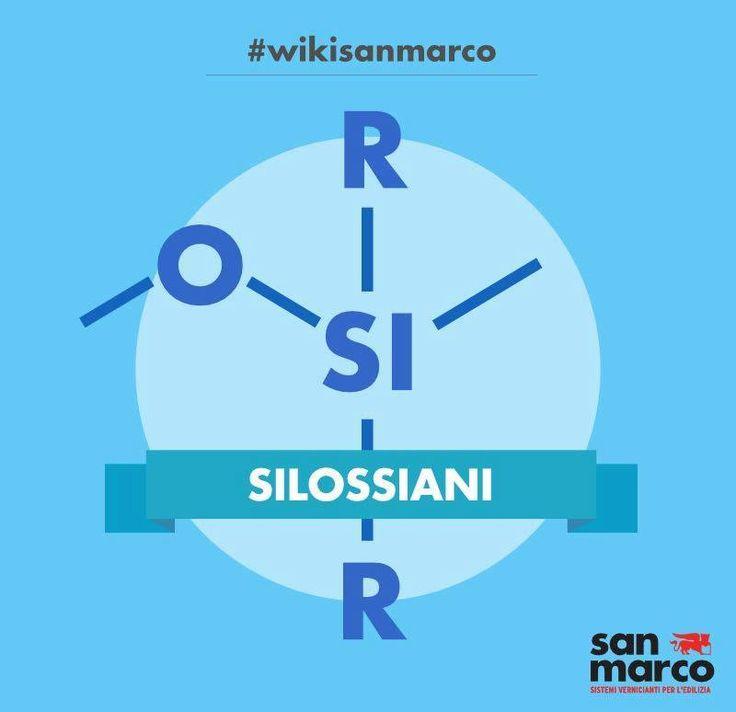 I silossani sono una classe di composti chimici che derivano dalla combinazione di silicio, ossigeno e alcano. Vengono considerati parte della classe dei composti organosilicei. #wikisanmarco #silossani