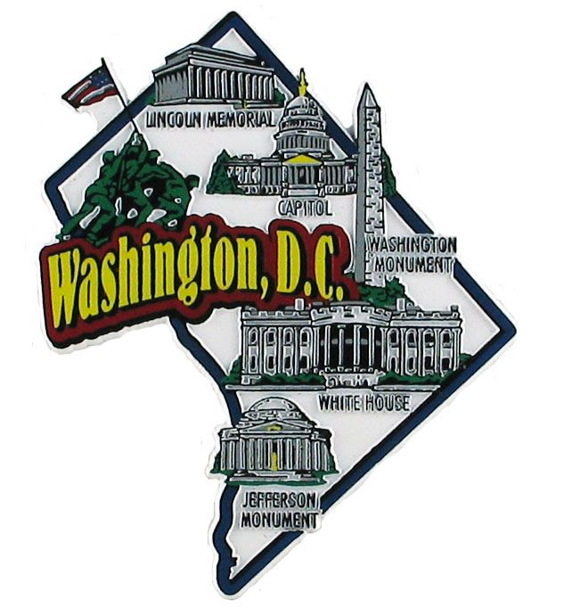 Best Colorful Souvenir Map State Magnets Images On Pinterest - Us map by state and companies