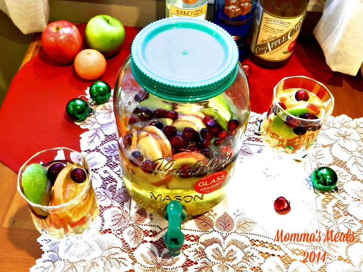 Holiday Sangria Surprise for #SundaySupper | Momma's Meals