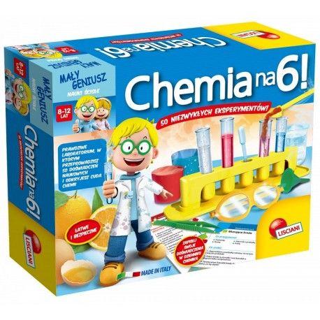 Witajcie,   Dzisiaj zaczynamy od zestawu dla początkujących chemików:)  Mały Geniusz - Chemia na 6 to Mini laboratorium dla Dzieci od 8-12 lat do przeprowadzenia 50 zabawnych i bezpiecznych eksperymentów.  Zestaw zawiera odczynniki, próbówki, miarki i wiele więcej!   Sprawdźcie sami:)  http://www.niczchin.pl/zabawki-edukacyjne-dla-dzieci/2925-maly-geniusz-chemia-na-6-lisciani.html  #malygeniusz #chemiana6 #labolatorium #zabawki #niczchin #krakow