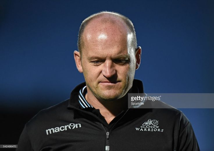 23 October 2015; Glasgow Warriors head coach Gregor Townsend. Guinness PRO12, Round 5, Leinster v Glasgow Warriors. RDS, Ballsbridge, Dublin. Picture credit: Stephen McCarthy / SPORTSFILE