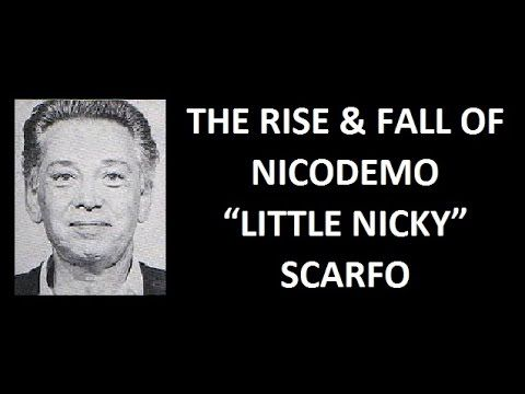"""Nicodemo Domenico """"Little Nicky"""" Scarfo (March 8, 1929 – January 13, 2017) was a member of the American Mafia who eventually became the Boss of the Philadelphia crime family after the death of Angelo Bruno, the Docile Don, and Phil Testa. During his criminal career, Scarfo was described by some as psychotic, cruel and vicious."""