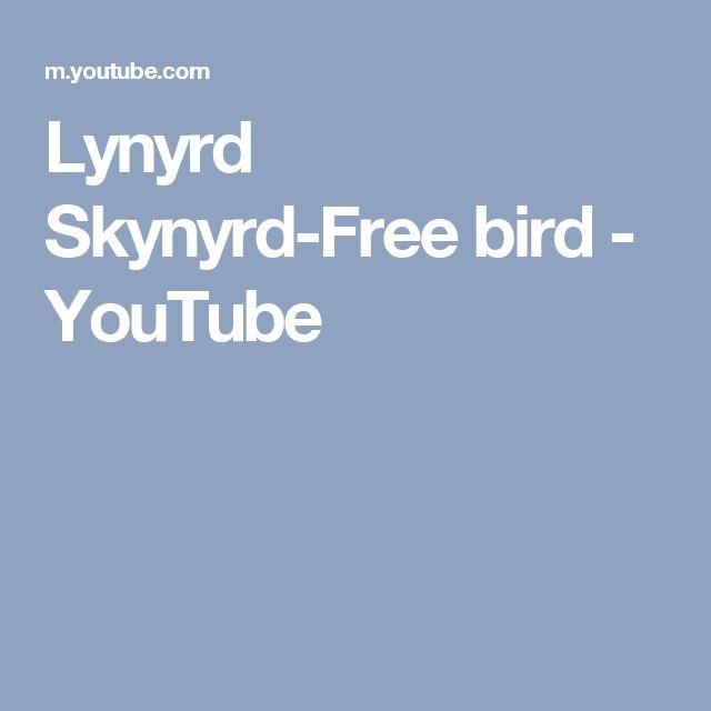 Lynyrd Skynyrd-Free bird - YouTube