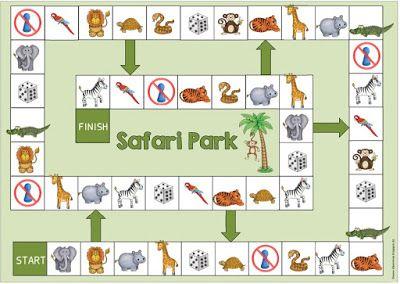 """Ideenreise: Spielfeld """"Safari Park"""" (wild animals)"""