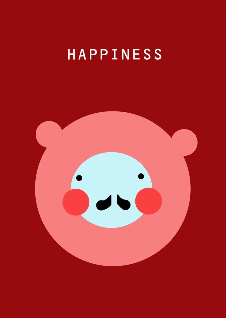 Happiness: Happy, Illustration, ღWordsღ, Happiness