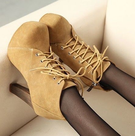 Naked short chick family fall 2012 new boots boots boots chunky heels high heels long legs