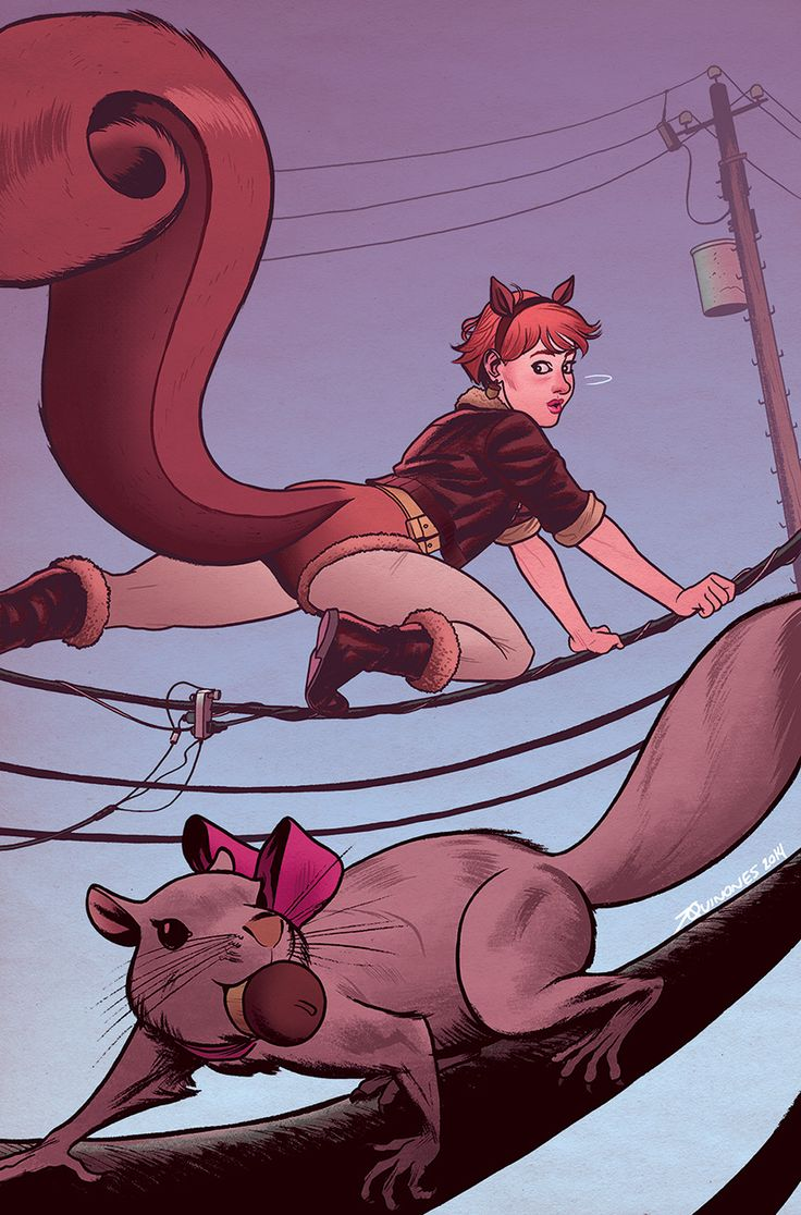 The Unbeatable Squirrel Girl Variant - Joe Quinones