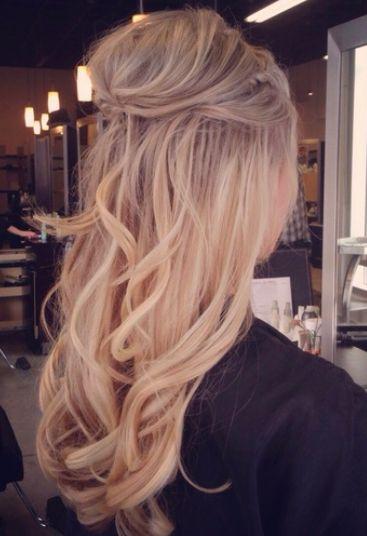 Beautiful warm buttery blonde.