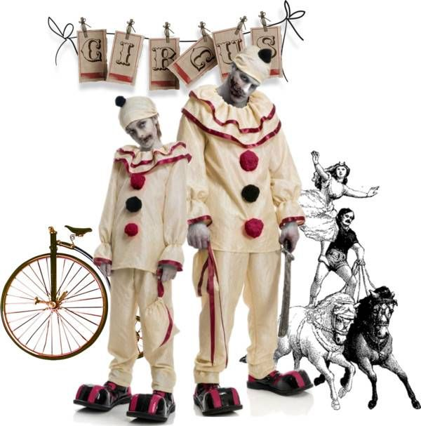 Father-Son Costume Ideas #Halloween #costumes #scaryclowns