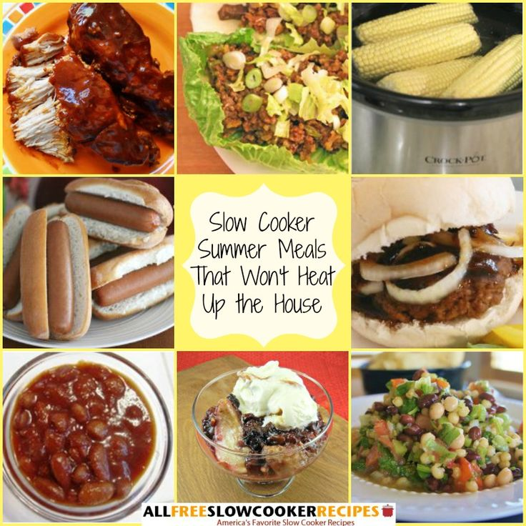 """""""Summer Meals That Won't Heat Up The House: 30 Summer Slow Cooker Recipes"""" Free eCookbook"""
