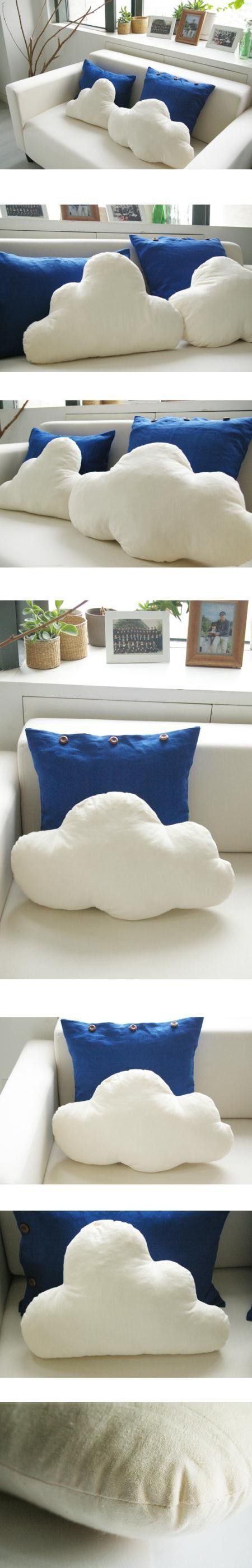 Cloud pillows! My next project [: